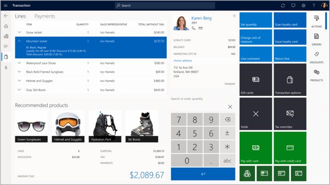 Microsoft Dynamics 365 for Commerce 11